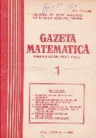 Gazeta Matematica, 1/1980