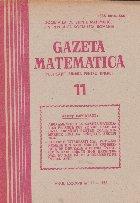 Gazeta Matematica, 11/1982