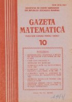 Gazeta matematica, 10/1985