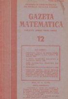 Gazeta Matematica, Decembrie 1985