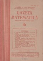 Gazeta Matematica Iunie 1985