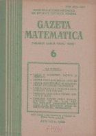 Gazeta Matematica, Iunie 1986