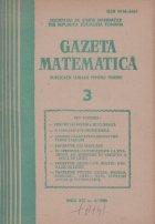 Gazeta Matematica, Martie 1986