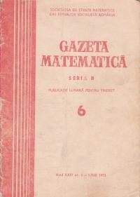 Gazeta Matematica, Seria B, Iunie 1973