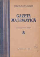 Gazeta Matematica Seria August 1974