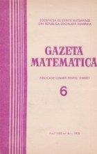 Gazeta Matematica, Seria B, Iunie 1975
