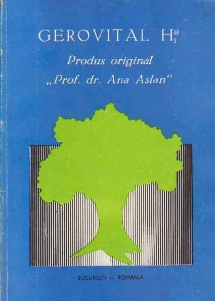 Gerovital H3 - Produs original, Prof. dr. Ana Aslan