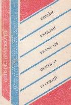 Ghid de conversatie roman, rus, englez, german