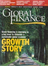 Global finance, september 2008