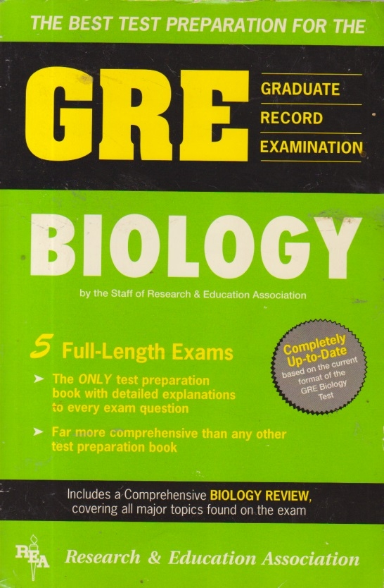 GRE (Graduate Record Examination) Biology