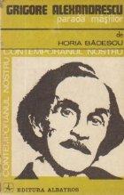 Grigore Alexandrescu -  Parada mastilor