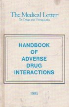 Handbook of adverse drug interactions
