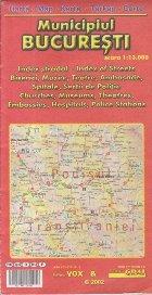Harta Municipiul Bucuresti (1:13 000, Editie 2002)