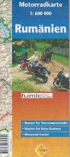 Harta Romania Motorradkarte