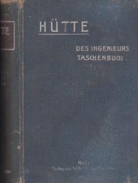 Hutte - Des Ingenieurs Taschenbuch, II. Band