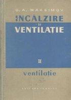 Incalzire si ventilatie, Volumul al II-lea - Ventilatie