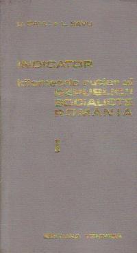 Indicator kilometric rutier al Republicii Socialiste Romania, Volumele I si II