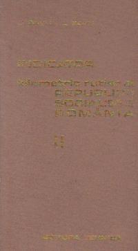 Indicator kilometric rutier al Republicii Socialiste Romania, Volumul al II-lea