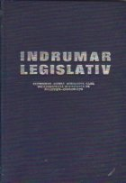 Indrumator legislativ cuprinzind actele normative