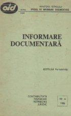Informare documentara Gestiuni (perisabilitati)