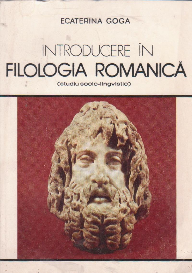 Introducere in filologia romanica