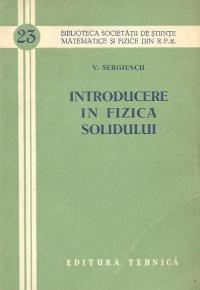 Introducere in fizica solidului