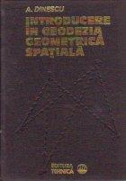Introducere in geodezia geometrica spatiala