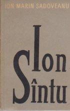 Ion Sintu - roman