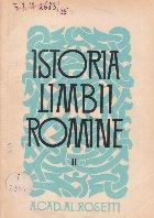 Istoria limbii romine, II - Limbile balcanice, Editia a IV-a