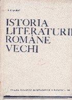 Istoria literaturii romane vechi, Partea a III-a