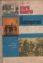 Istoria moderna contemporana Manual pentru