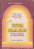 Istoria romanilor. Epoca moderna si contemporana - Manual pentru clasa a VIII-a