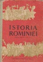 Istoria Rominiei, Manual pentru clasa a XI-a (Editie 1962)