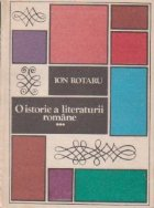 O istorie a literaturii romane, Volumul al III-lea (1944-1984)