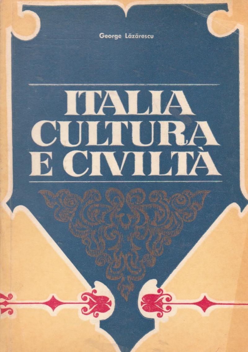 Italia Cultura E Civica / Italia, Cultura si Civilizatia