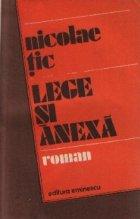 Lege si anexa - Roman