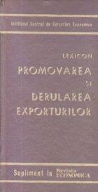 Lexicon Promovarea derularea exporturilor