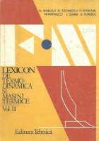 Lexicon termodinamica masini termice Volumul