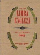 Limba Engleza, II - Texte de specialitate. Istorie