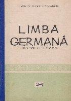 Limba germana, Manual pentru anii III si IV de studiu