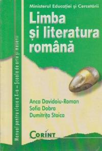LIMBA SI LITERATURA ROMANA clasa a X-a (pentru scoala de arte si meserii)
