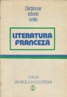 Literatura franceza - Dictionar istoric critic