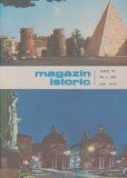 Magazin istoric, Nr. 1 - Ianuarie 1972