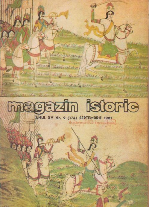 Magazin istorice, Septembrie 1981