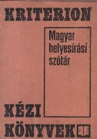 Magyar Helyesirasi Szotar (Dictionar ortografic maghiar)