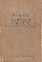 Manual economie politica