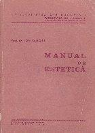 Manual de estetica