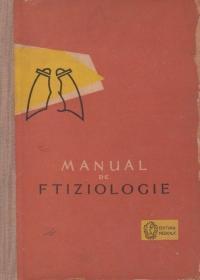 Manual de ftiziologie