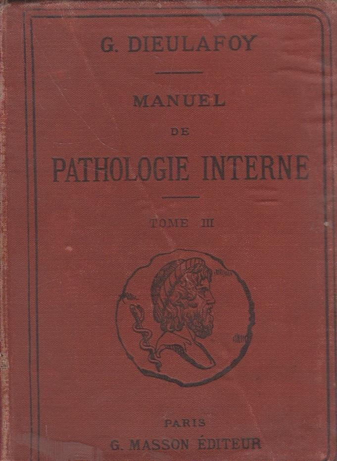 Manuel de Pathologie Interne, Tome III