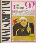 Manuscriptum 1/1974 (14) Anul